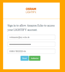 Osram Lightify Amazon Echo Dot
