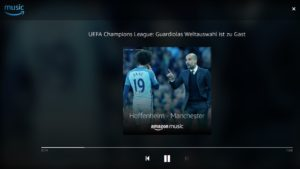 Fußball live bei Amazon Music Unlimited