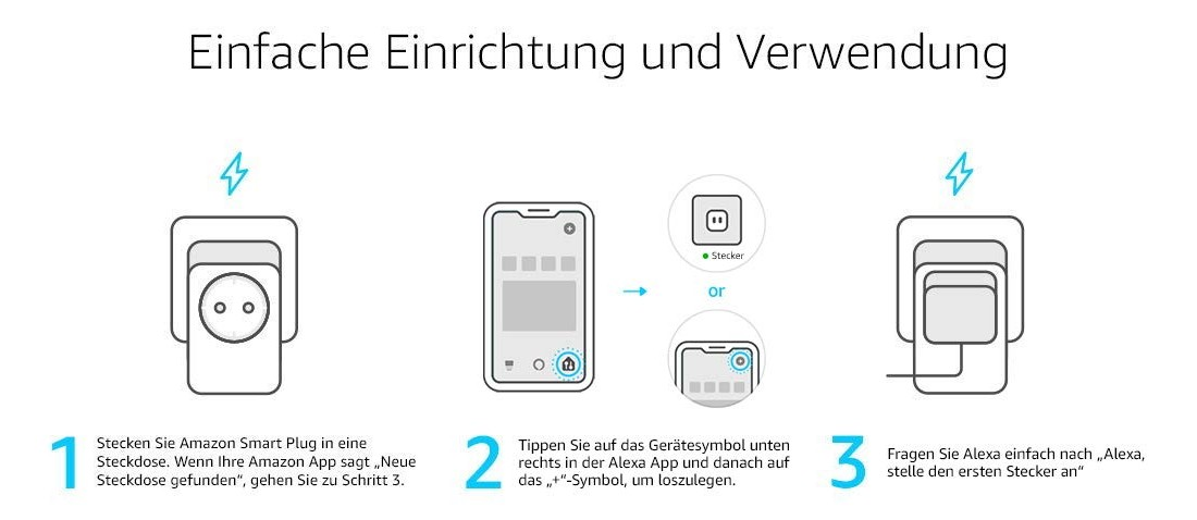 Amazon Smart Plug einrichten